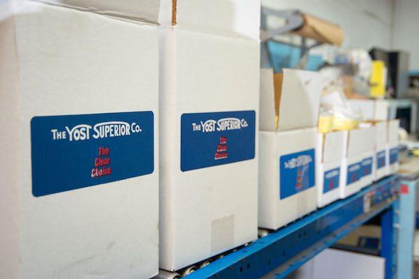 yost superior company boxes
